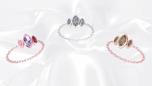 Mot damour trilogie marquise or blanc et rouge diamant saphir rubis